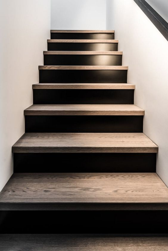 Best Black Wood Stair Design Pinterest Entry Stairs 400 x 300