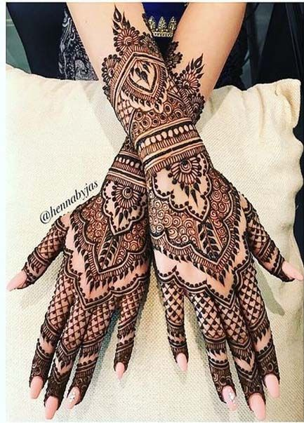 Best Mehndi Designs For Navratri 2019 Photos Inspirations