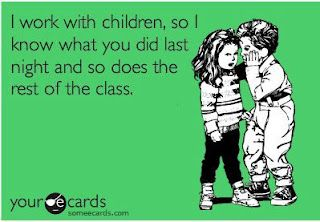 HAHA! Yes, parents, it's true. They tell all.