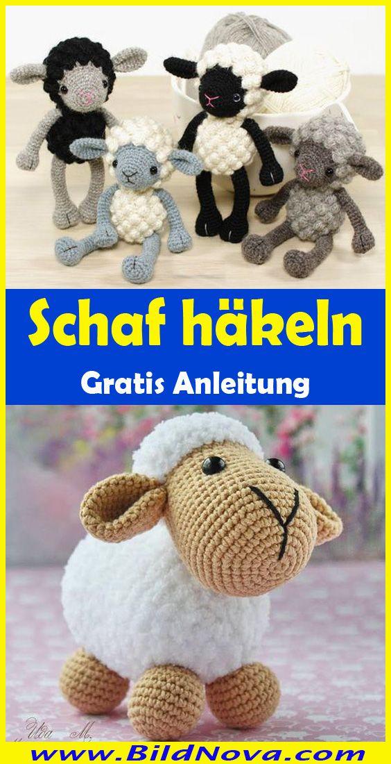 Häkel Schaf Anleitung #häkeln #schaf #anleitung #kostenlos ...   1100x564