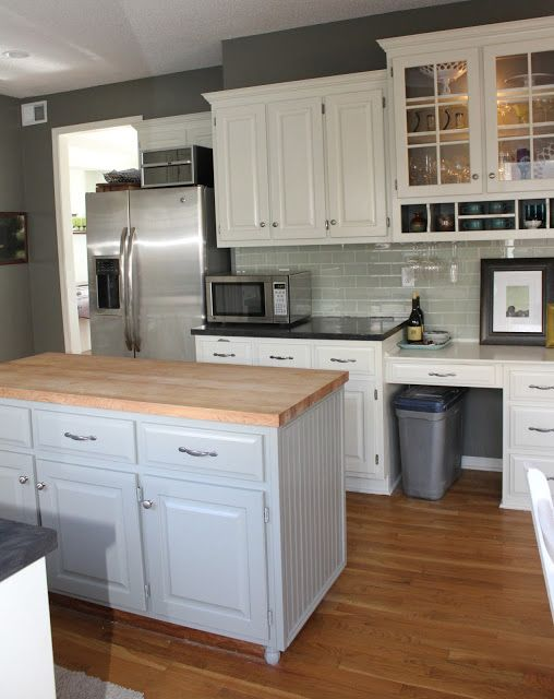 Oh so lovely our 500 diy kitchen remodel kitchen ideas pinterest paint colors - Diy redo kitchen countertops ...