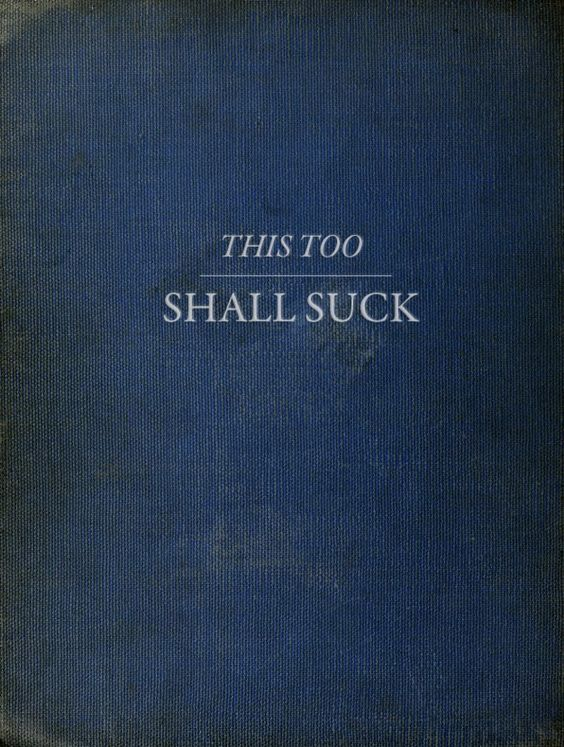 a book for a practicing pessimist