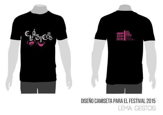 Concurso Diseñanos la Camiseta Festival de Teatro Clásico de Almagro 2015.