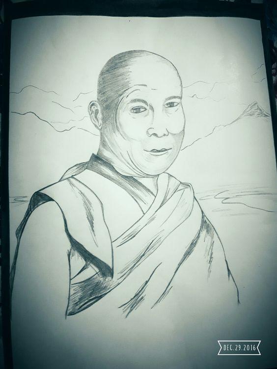 #face Dalai laama