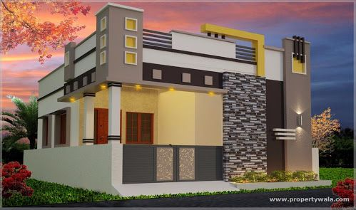 Image Result For Coimbatore Home Design And Construction Small House Elevation Design House Elevation Small House Front Design