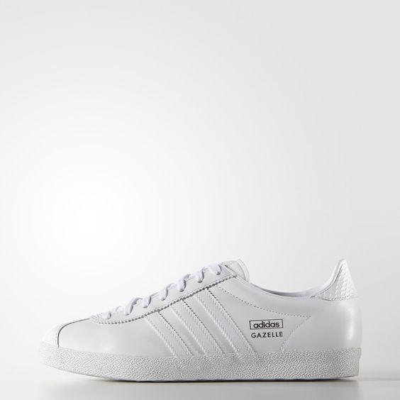 Tênis Gazelle OG Feminino - Branco adidas | adidas Brasil