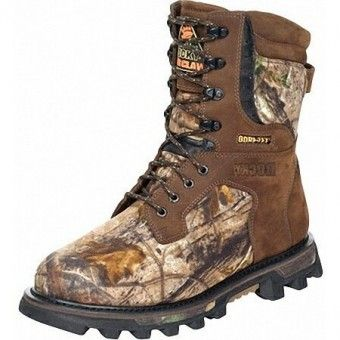 Boots :: Rocky Boots Mens Dark Brown 8-Inch Bearclaw3D Insulated ...