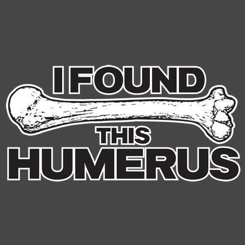 I want to find the descendent of the person who named this bone 'funny bone' and slap them, because it sure hurts like crap.