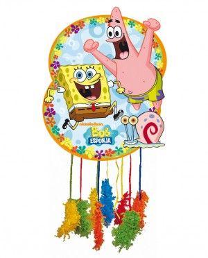 Pi ata de bob esponja para cumplea os comuniones y - Pinatas para cumpleanos infantiles ...