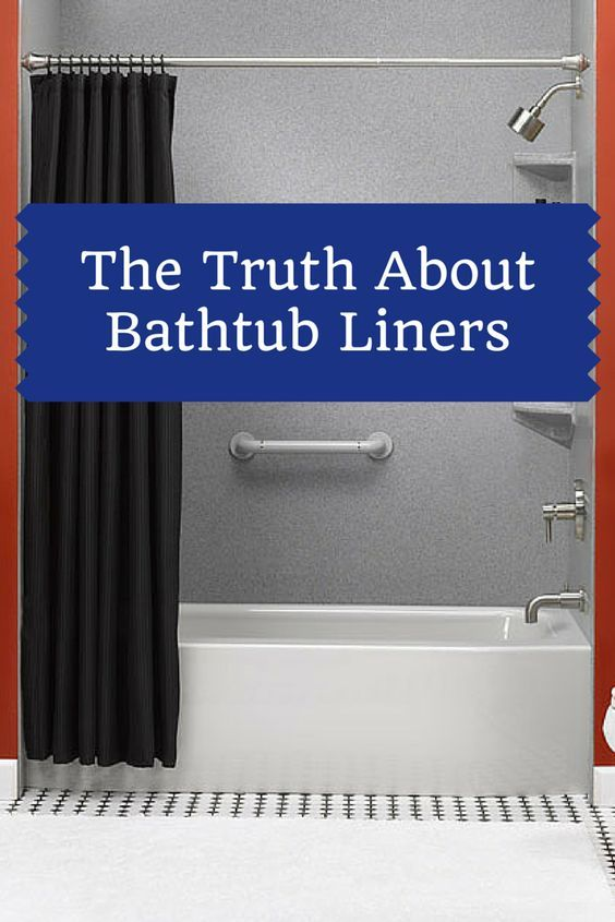 The 25+ best Bathtub liners ideas on Pinterest   Tub shower doors ...