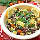 Linked to: joylovefood.com/tomato-corn-and-black-bean-salad/