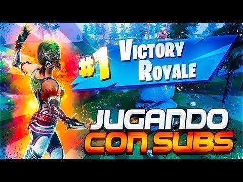 Fortnite Directo Jugando Con Subs Fortnite Imagenes De Videojuegos Logotipo De Youtube