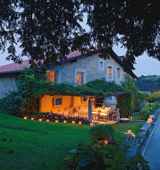 Fin de año en una casa de campo · ElMueble.com · Casas