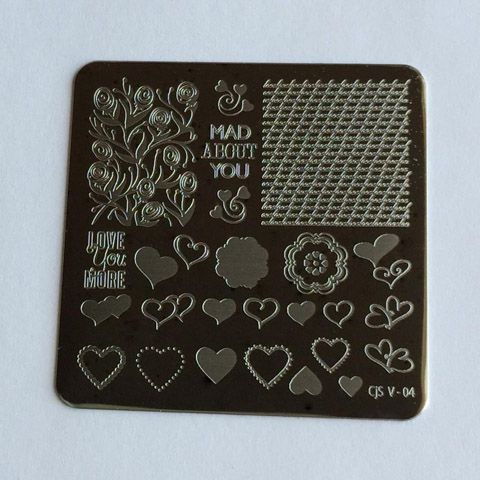 Clear Jelly Stamper- Layers of LoVe (CjSV-04)