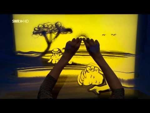 "Sandperformance | Sandmalerei ""Sag Die Wahrheit"" - YouTube"