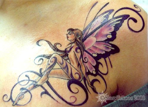 tinkerbell tattoos designs picture 26 free tattoo designs cool tattoos pinterest fairy. Black Bedroom Furniture Sets. Home Design Ideas
