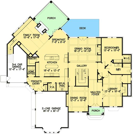 House plans house and layout on pinterest for English country manor house plans