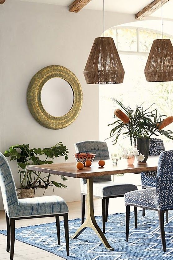 Before After Kathryn Ireland S Renovated Art Compound Dining Table Furniture Dining
