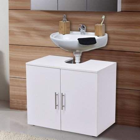 Home Pedestal Sink Storage Small Bathroom Storage Bathroom Sink Storage