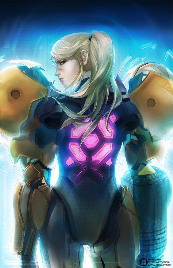 """animecorecollection: """"Zero Suit by JisuArt """""""