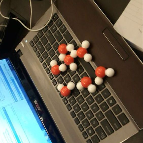 There's water on my laptop! Oh nerd jokes! ;)