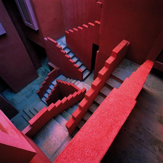 La Muralla Roja - Ricardo Bofill