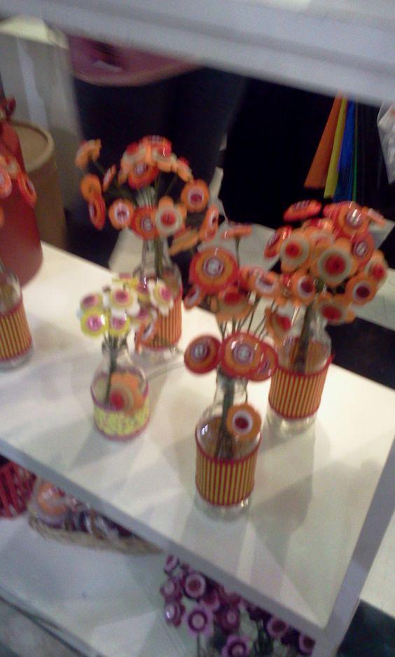 Flores de botão
