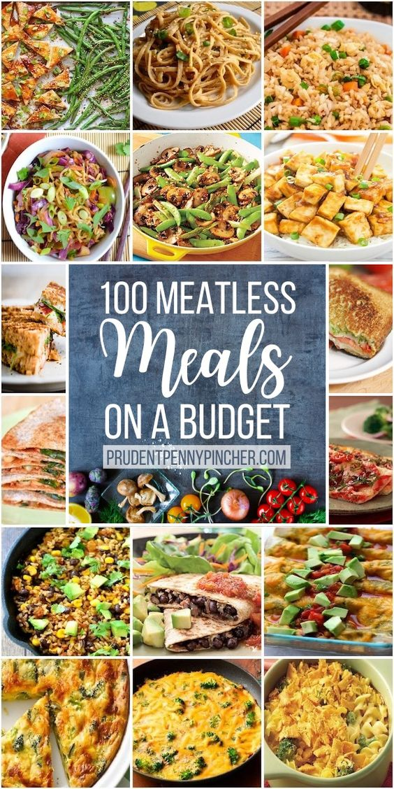 200 Meatless Meals on a Budget