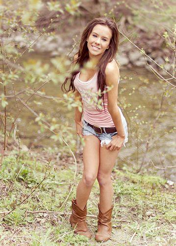 Cute Girl Short Shorts