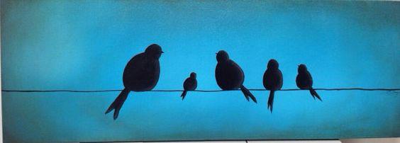 Family Flock on Etsy, $95.00