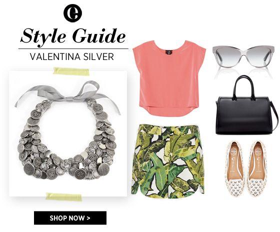 Ela's Style Guide - Valentina Silver
