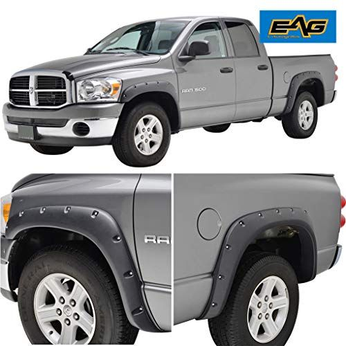 Eag Fender Flares Rivet Style Bolt On Pocket Fit For 02 08 Dodge Ram 1500 03 09 Dodge Ram 2500 3500 Hd Https Au Dodge Ram 1500 Dodge Ram 2500 Fender Flares