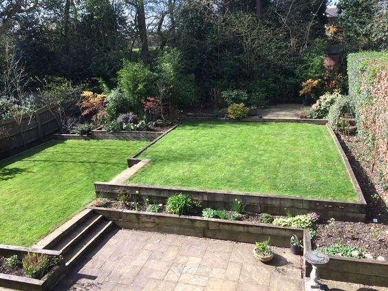 Richie's garden.