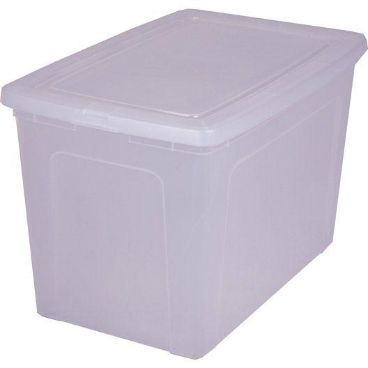 Boite De Rangement Modular Box En Plastique L 39 5 X P 59 5 X H 37 8 Cm 70l Caisse Plastique Meuble Casier Ikea Meuble Rangement