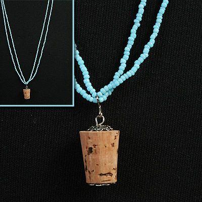 luna lovegood inspired butterbeer cork necklace bead