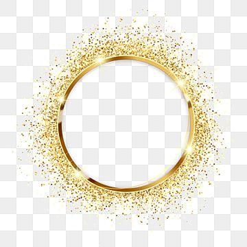 Glitter Coarse Grain Metallic Golden Frame Glitter Coarse Grain Metal Png Transparent Clipart Image And Psd File For Free Download Decorative Lines Frame Background Design Vector