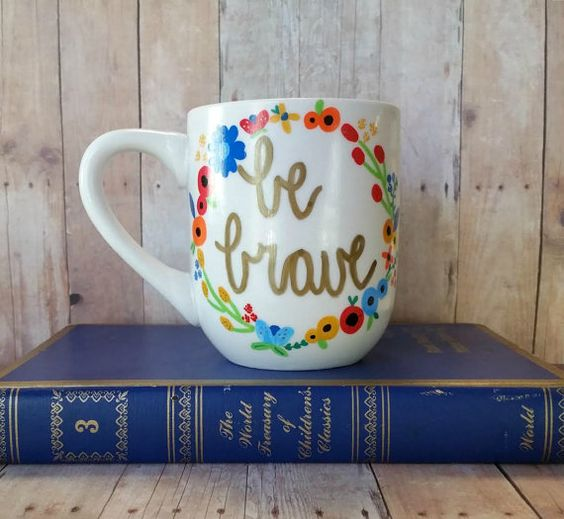 Be Brave Mug | Plus Size Life