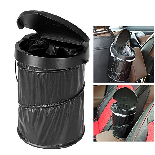 Best Collapsible Trash Cans Reviews Collapsible Garbage Can Trash Can For Car Garbage Containers Car Trash