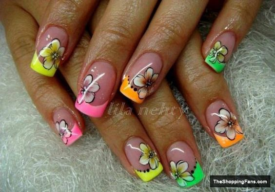 Image from http://theshoppingfans.com/wp-content/uploads/2013/12/neon-flower-nail-art.jpg.