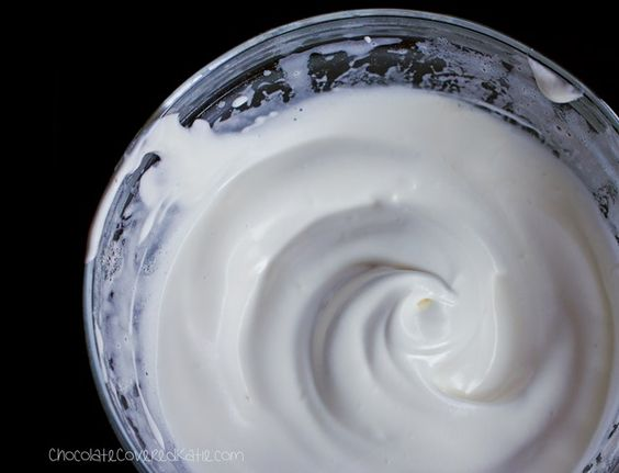 Aquafaba - the water from a can of chickpeas that can be used as a fantastic vegan substitute for egg whites.