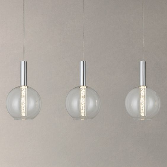 John lewis ceiling lights and bubbles on pinterest for Kitchen lighting ideas john lewis