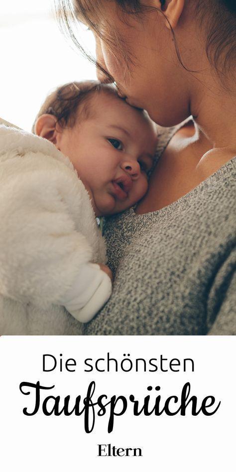 Die Schönsten Taufsprüche Kinder Babys Schöne