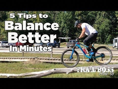 Five Tips For Improving Balance On A Mountain Bike To Ride