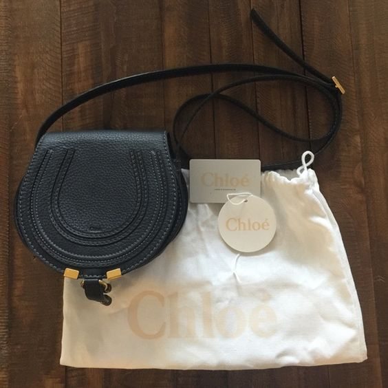 chloe replica handbags uk - Chloe Mini Marcie Black Crossbody Authentic Like NEW, used one ...
