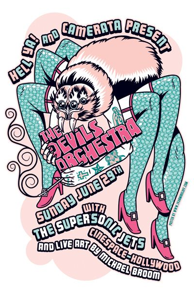 GigPosters.com - Devils Orchestra, The