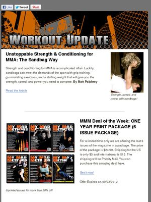My article and book were featured in the recent My Mad Methods newsletter - check it out!