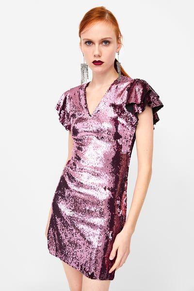 elegante en estilo 2019 original precio bajo Imagen 5 de VESTIDO LENTEJUELAS de Zara | Drees en 2019 ...