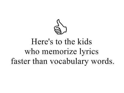 I have problem memoring stuff?