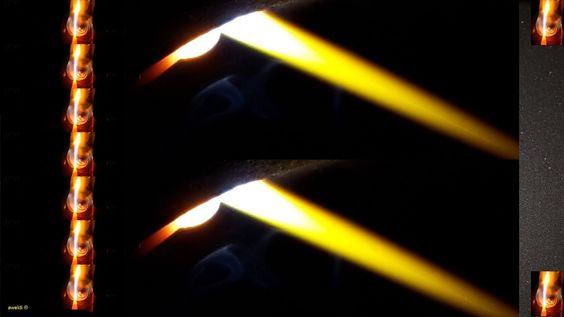 Blindraupen Edelstahl schweißen kurze langsame schnelle Schritte Lichtbo...