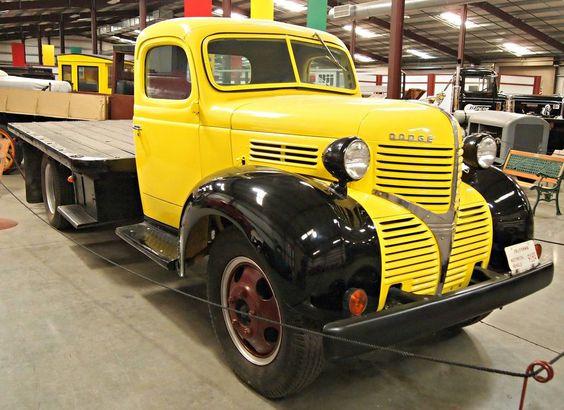 vintage flatbed truck for sale classic trucks7 classic trucks in hays antique museum. Black Bedroom Furniture Sets. Home Design Ideas